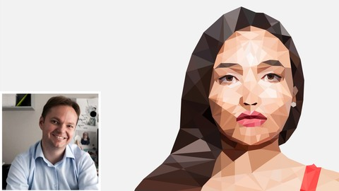 How To Create A Low Poly Portrait With The Pen Tool