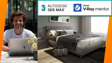 Complete Masterclass: Interior 3D Rendering 3ds Max + V-Ray