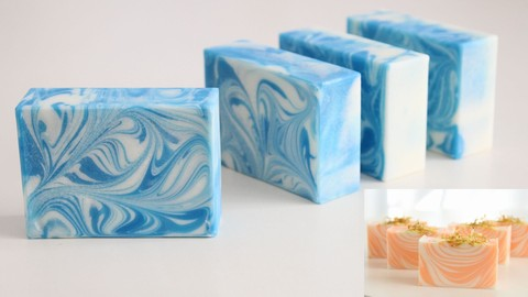 はじめての手作りデザイン石けん(Cold process法)Design soap of the beginner