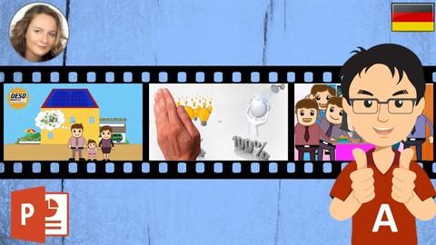 Powerpoint 4 Video Teil A  - Einführung - Erste Animationen