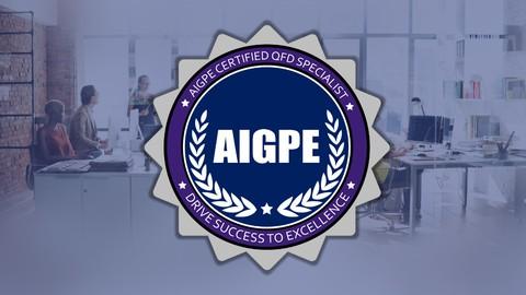 Six Sigma Black Belt QFD Specialist Certification