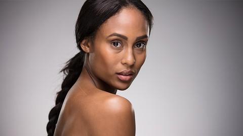 How to light: Beauty Headshot Photography