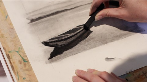 Realistic Charcoal Drawing for Beginners
