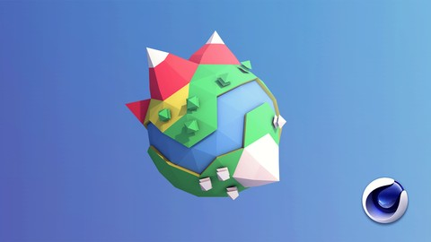 Learn Cinema 4D: Low Poly Planet