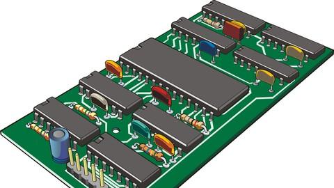 3D Simulation: Microcontrollers, Electronics, Mechanism, PCB