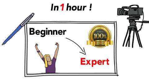 Whiteboard Animation, Beginner To Expert - In 1 Hour!