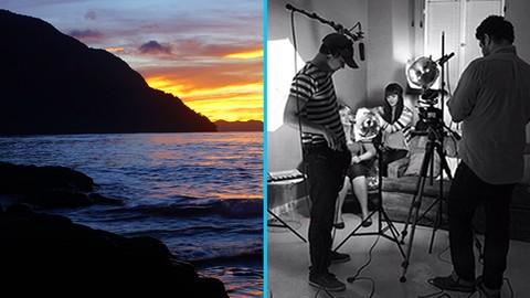 2-in-1 Film Set Studio Lighting for Budget Videography