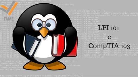 Curso preparatório certificação Linux (LPIC 101 e CompTIA)