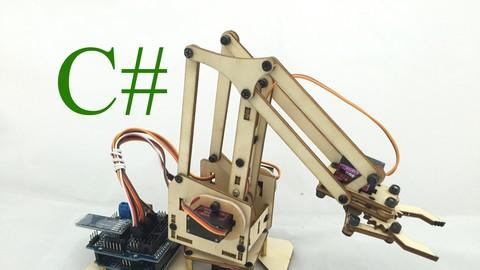 Cánh tay robot điều khiển bằng máy tính