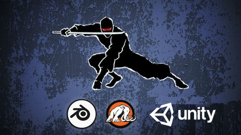 Make a Ninja Survival game for mobile in Unity® and Blender!