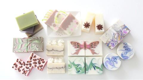 デザイン石けん上級講座1 Design Soap Advance Course Part1