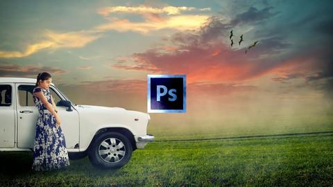 Learn Digital Art Photo Manipulation in Photoshop-Alone Girl