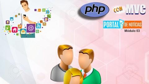 Portal de Notícias PHP MVC - Gestão de Usuários