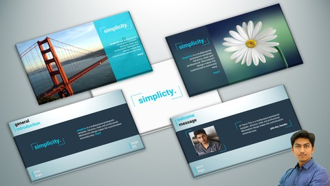 Simplicity PowerPoint Theme: Design & Animate First 5 Slides