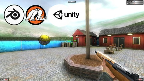 Code and Design 2 Games in Unity® & Blender from Scratch