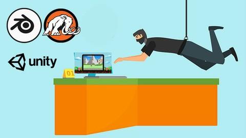 Make your first 2D & 3D games in Unity® & Blender