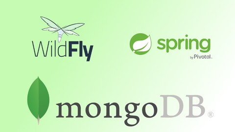 Spring Boot com Wildfly, MongoDB (GridFS e full text search)