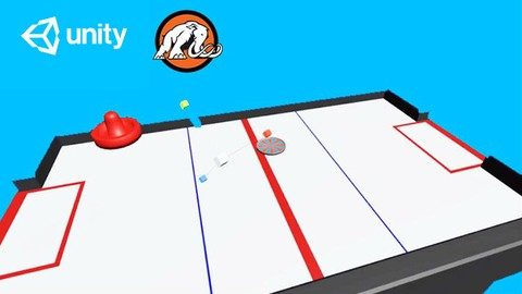 Learn to Code by Making an Air Hockey Game in Unity®!