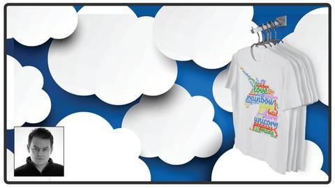 Merch by Amazon Word Cloud T-Shirt Design