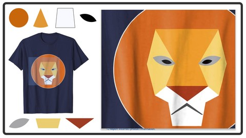 Merch By Amazon Shape Based T-Shirt Design