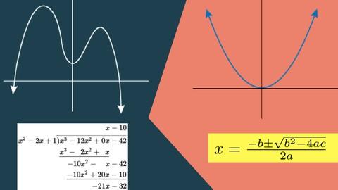 Polynomial and Quadratic equations in Algebra | Mathematics