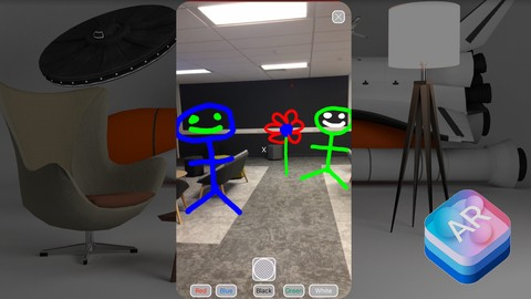 ARKit Drawing  App: Create Your First AR App Using ARKit