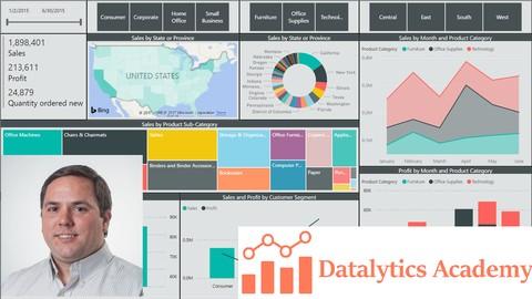 Microsoft Power BI Desktop - Data Analytics with Dashboards