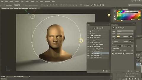 Curso Online de Adobe Photoshop CC. Modelagem e Animação 3D