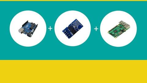 3 in 1 IoT Bundle : Arduino Uno, ESP8266 and Raspberry Pi