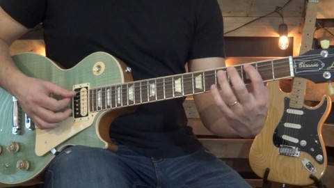 Lead Guitar Lesson #2 - Alternate Picking Technique