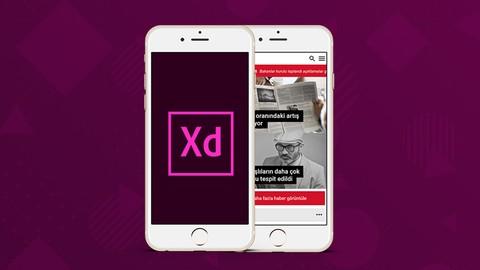Adobe XD ile Etkileşimli Mobil Arayüz Tasarımı: Haber Sitesi