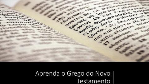 Aprenda Grego do NT