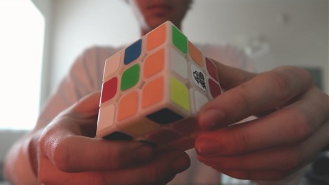 How To Solve A Rubiks Cube Step-By-Step! (Beginners Method)