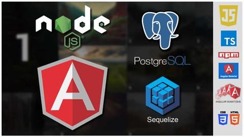 Angular + NodeJS + PostgreSQL + Sequelize