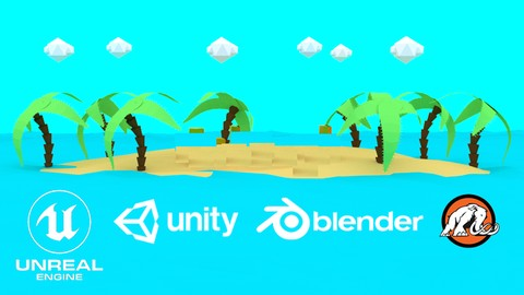 Build 2D, 3D, and VR Games in Unity and Unreal *Masterclass*