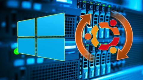 Windows Server 2012 y Linux Ubuntu Server para principiantes