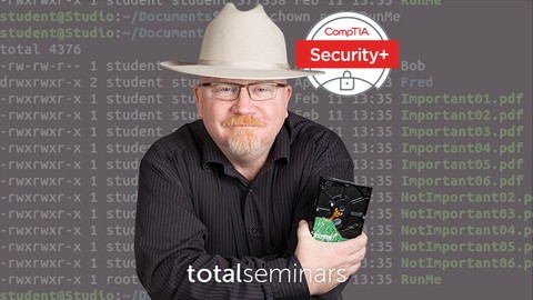 TOTAL: CompTIA Security+ Certification (SY0-501)