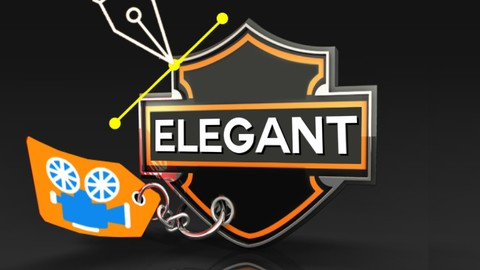 After Effects CC: How to Make The Elegant Logo Animation