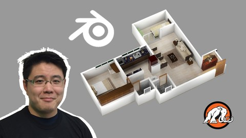 3D House Design in Blender: Make Low Poly Art for Unity®