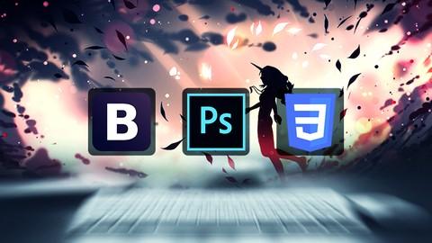 Sıfırdan PSD to CSS & PSD to Bootstrap 4 ile Web Tasarım