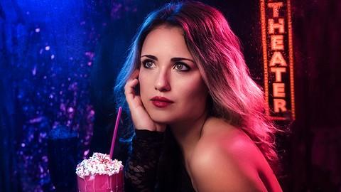 Creative Portrait Photography Series: Magic Of Color & Gels