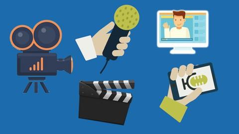 Grabación de Vídeos para Cursos Online, Youtubers, Bloguers