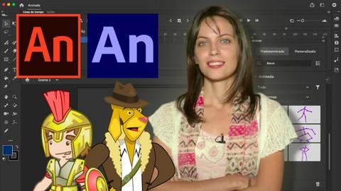 Adobe Animate CC 2021 de cero a profesional.
