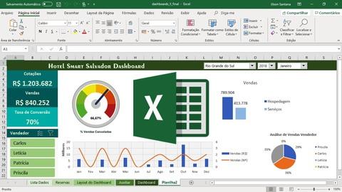 Excel Básico Avançado 5 Cursos - Formação Especialista