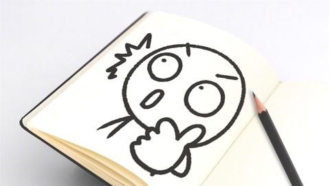 気持ちが伝わる! 3パーツで作る顔の表情イラストの描き方