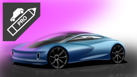 How To Sketch, Draw, Design Cars Like a Pro Digital Renders