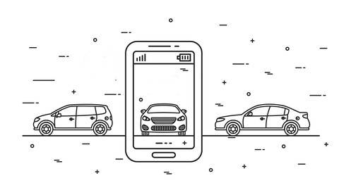 Android Cars App using Kotlin, PHP and Google Maps