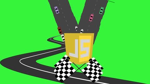 Car Racer JavaScript Game Exercise Vanilla JavaScript