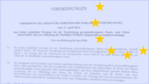 Die Datenschutzgrundverordnung (DSGVO) richtig anwenden!