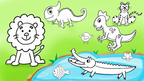 The Secrets to Animal Drawing for Beginners & Kids